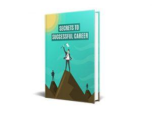 Secrets To Successful Career PLR Ebooks